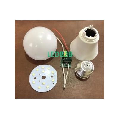 9W 12W 18W E27 SKD LED Bulb Lamp
