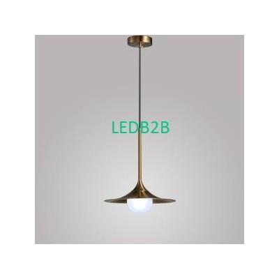 minimalist chandelier copper pend
