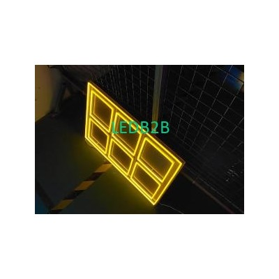 Chocolate neon sign bright lighti