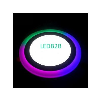 RGB Panel light both for Round an