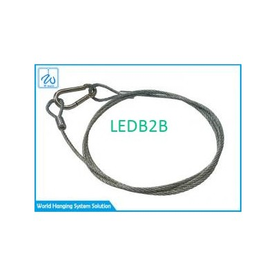 2mm 7*7 Steel Wire Rope Lanyard S