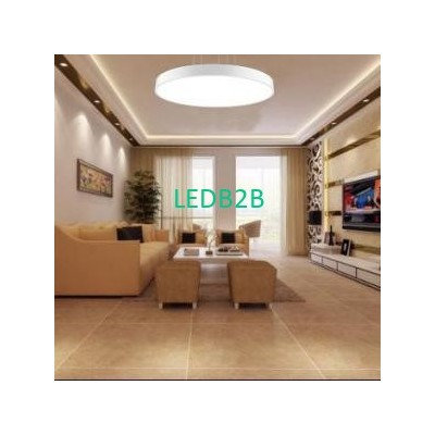 90LM/W 30W 450mm White Suspended