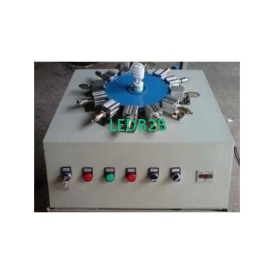 E14 Bulb Cap Crimping Machine For