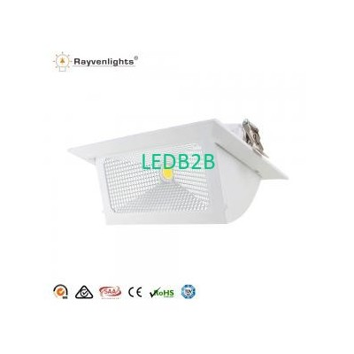 Downlight Rectangular Led 40w 30W