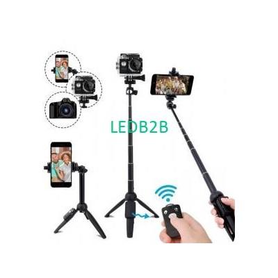 820mm BW BS8 Bluetooth Selfie Sti