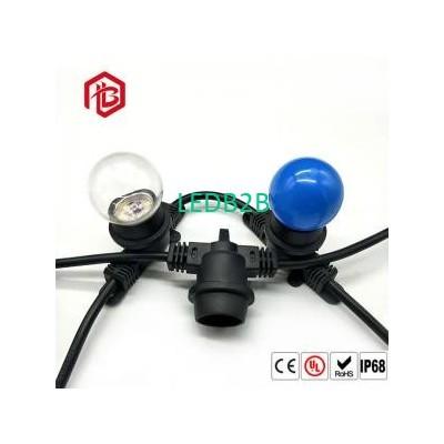 250W 250V Pvc E27 Lamp Holder Bla