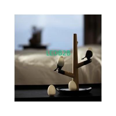 Office Desk Lamp Lucky Bird and E