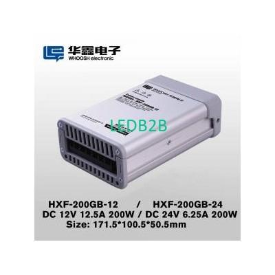 16.7A LED Driver 12V 200W LED Sig