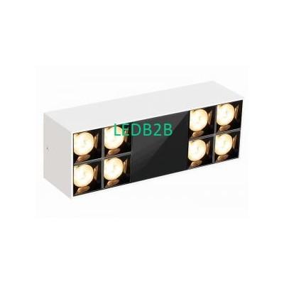 85LM/W 3000K 24W LED Grille Downl