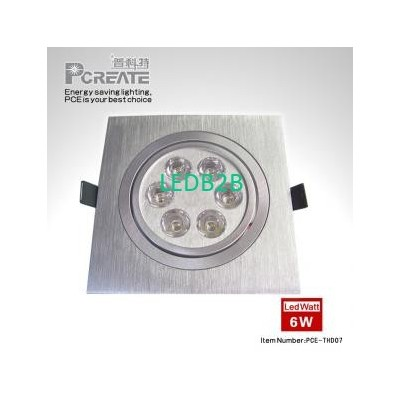 PCE-THD07 6W LED Ceiling Light