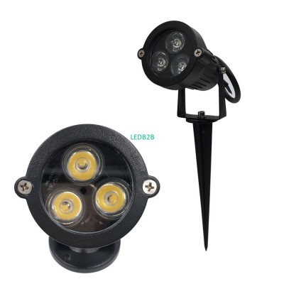 Free ship 3W 9W outdoor led lawn