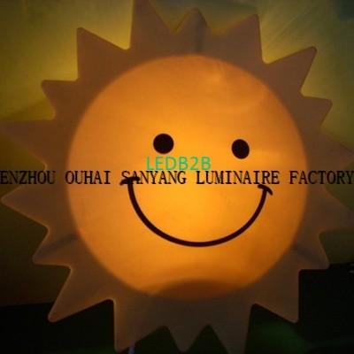 Sun shape baby lamp