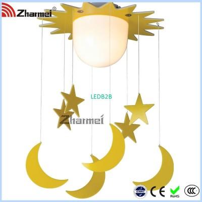 Popular Yellow Star Ceiling Lamp