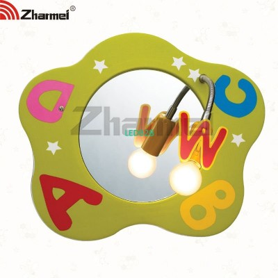 decorative children mirror lamp