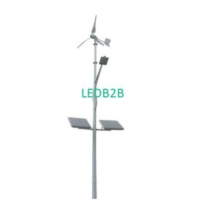Wind & Solar powered hybrid lamps