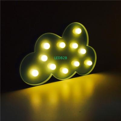 3D LED Night Light Indoor Wall La
