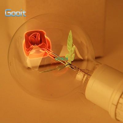 E27 3W Incandescent Bulbs Rose Sh