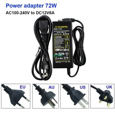 SXZM 72W power adapter AC DC powe