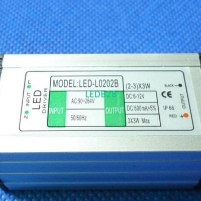5 pcs (2-3) x 3w 6W 9W LED waterp