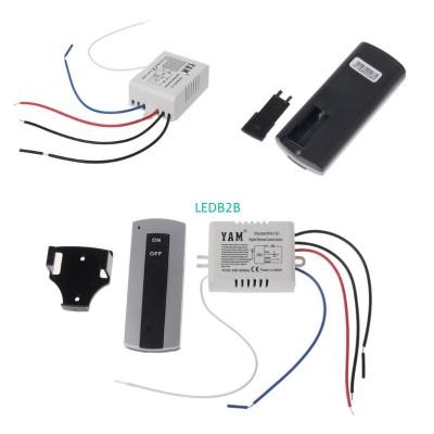 Wireless 1/2/3 Channel ON/OFF Lam