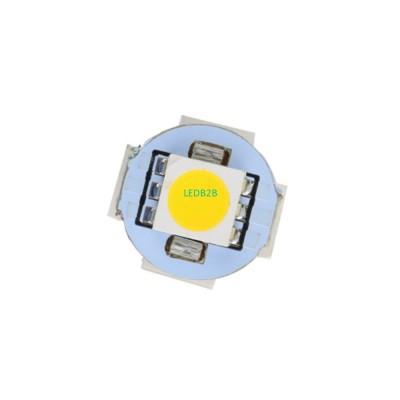 1pc G4 Warm White 5 LED Diodes 50