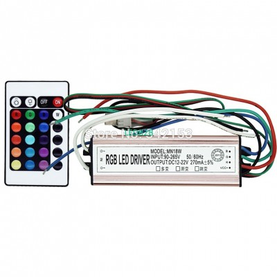 IP67 Waterproof 20W RGB Multicolo