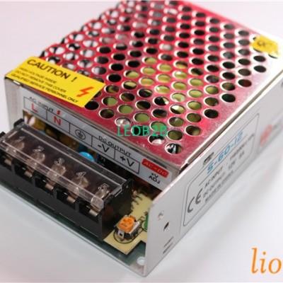 Mini AC110/220V to 12V 5A 60W Swi