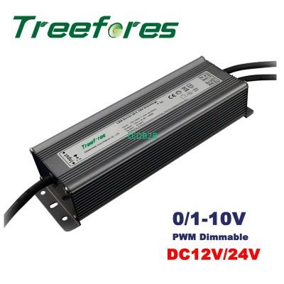 100W 0/1-10V PWM Dimmable LED Dri