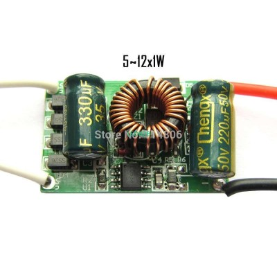 5-12*1W DC to DC LED Driver input