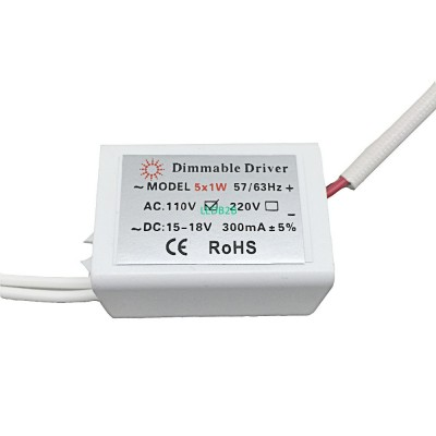 LED Dimmable Driver Input AC110v