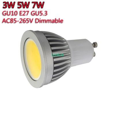 5pcs/lot Super Bright GU10 Bulbs