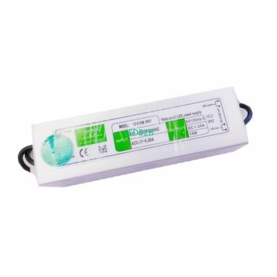1 pcs DC12V 15W waterproof IP67 S