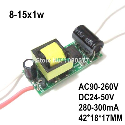 2pcs LED Driver Constant Current