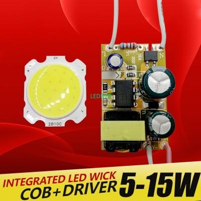 5W 7W 10W 12W 15W COB LED +driver