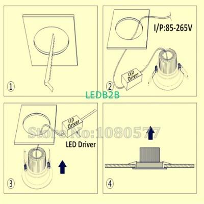 10pcs 10x3W LED driver, 10*3