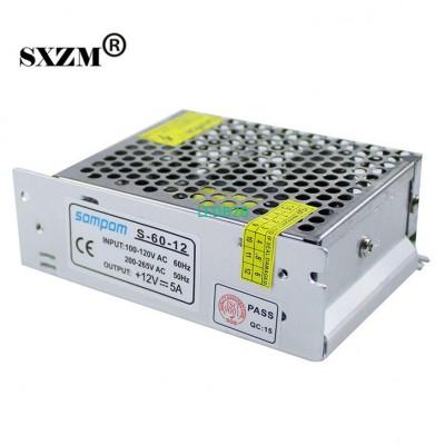SXZM DC12V 5A 60W small led switc