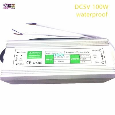 5V 100W waterproof IP67 Switching