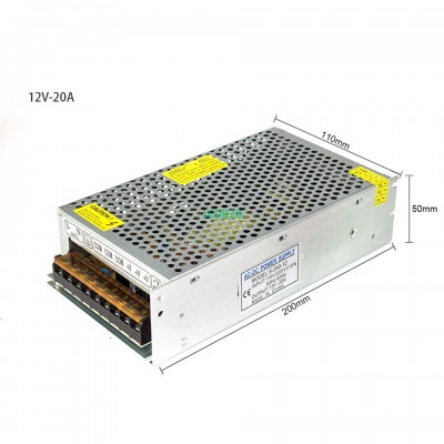 DC12V 1.25A 2A 5A 8.5A 10A 15A 20
