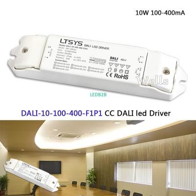 LTECH 10W 100-400mA CC DALI led D