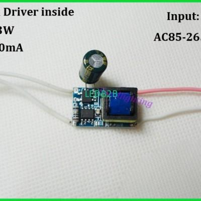 SXZM 20pcs/lot Led driver inside
