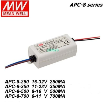 Mean Well APC-8-250/350/500/700mA