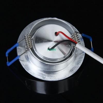 1W LED Downlight empotrado Lampar