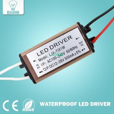 Waterproof 4-7W LED Light Driver