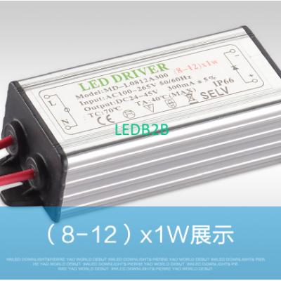 ( 8-12 ) X 1W 12W IP66 Waterproof