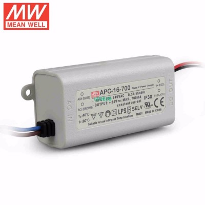 Mean Well APC-16-700 16W 9-24V 70