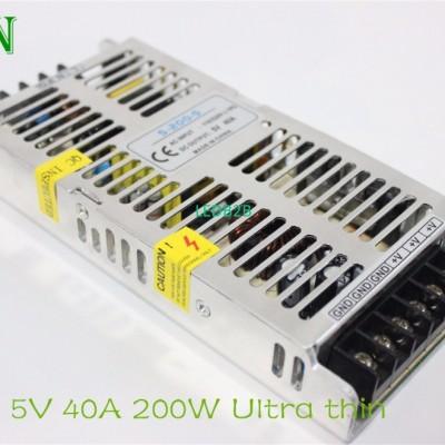 Ultrathin 5V 40A Power Supply 200