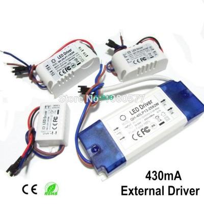 2pcs LED Driver 430mA Constant Cu
