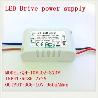 1 5 10pcs Isolated 900mA 10W Led