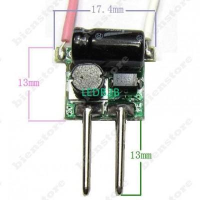 DC-DC 2pins MR16 1~ 3x1W Input 12