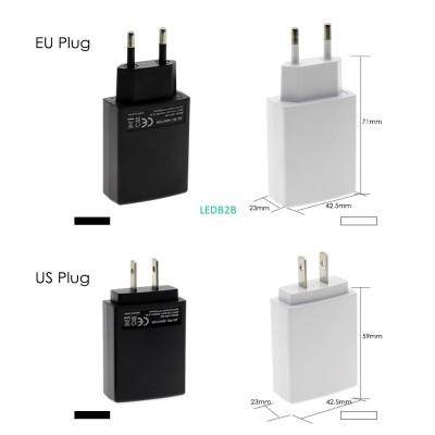 DC 5V 2A USB Power Adapter EU Plu